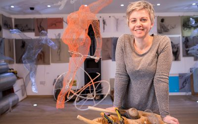 CUMBRIA-BASED SCULPTOR WIRED FOR SUCCESS